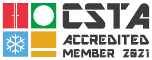 2021 CSTA Accredited Member Logo