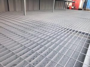 20ft Chemical Store Containers Raised Flooring