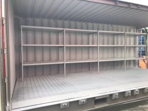 20ft Chemical Store Containers inside