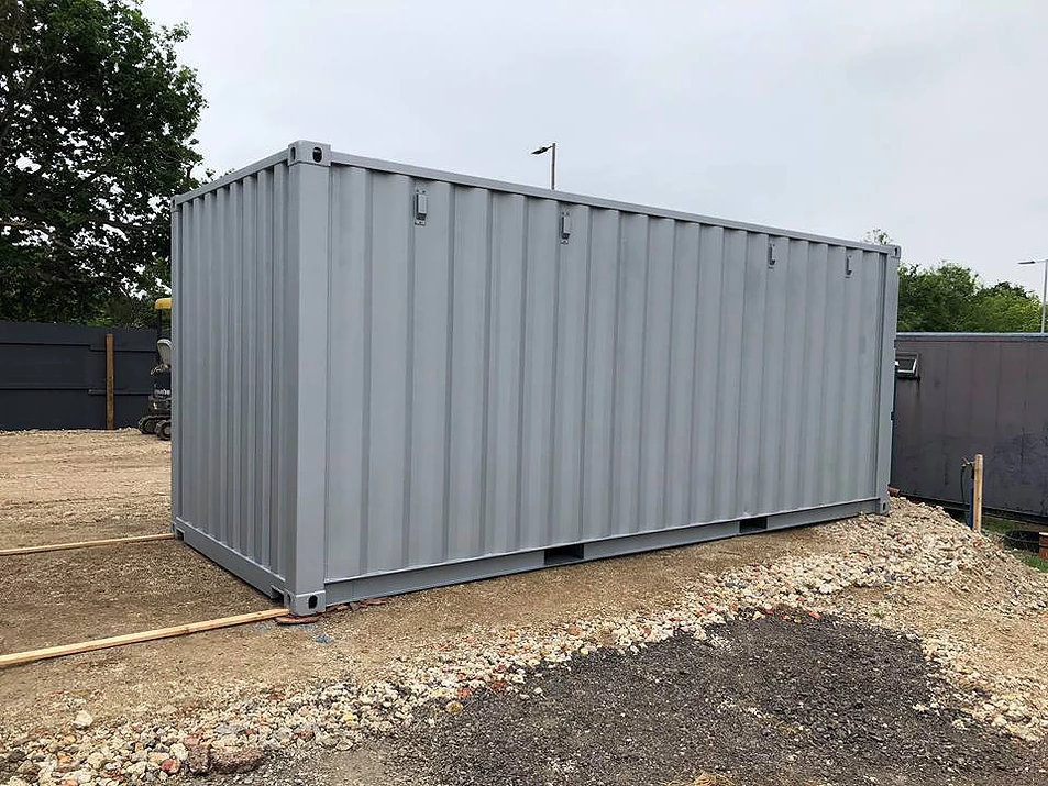 20ft Office Container Conversion In location back
