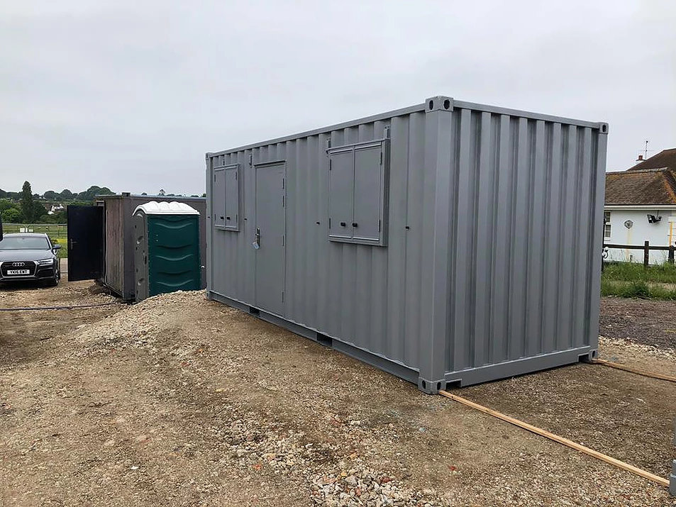 20ft Office Container Conversion In location