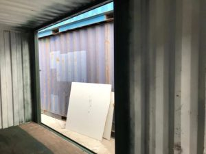 20ft Sliding Door Container Conversions