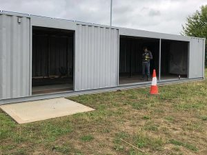 40ft School Library Container Conversions