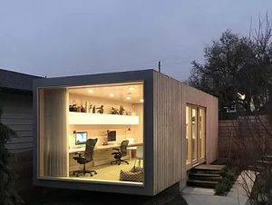 Capital Containers Office conversion