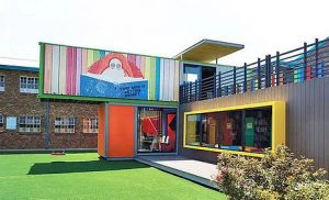 Container Conversions for Schools