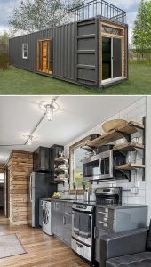 Capital Containers conversion accommodation