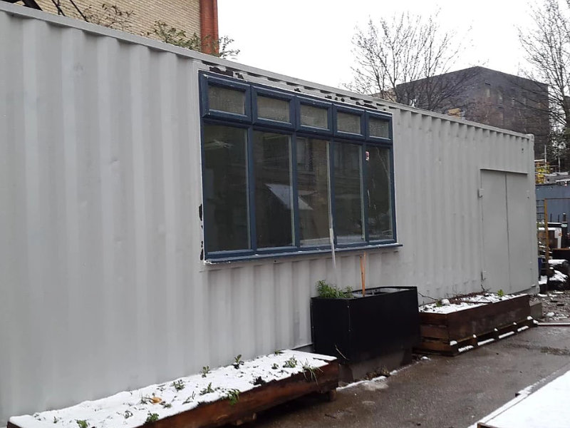 Catering Classroom Container Conversion