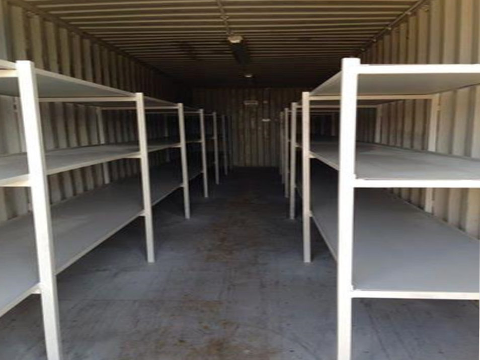 Containers with Racking Both Sides