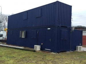 Office Complex 40ft Container Conversion