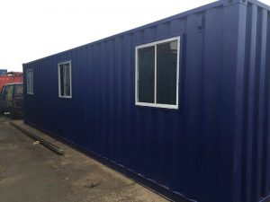 Office Container Conversion for Network Rail