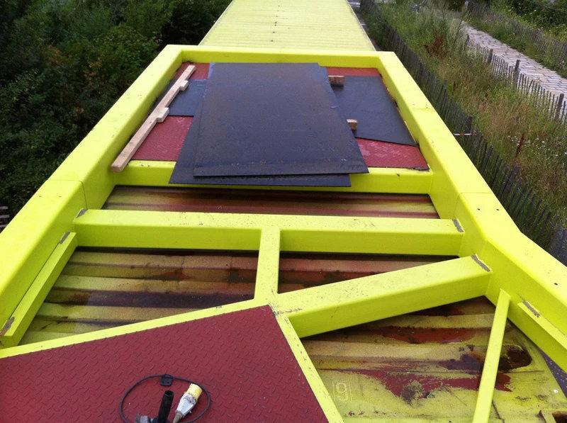 Olympic Bridge Container Conversion 5
