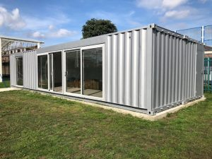 School Container Conversion For Additional Classroom Space​