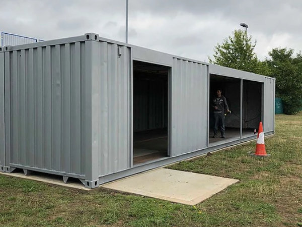 School Container Conversion For Additional Classroom Space