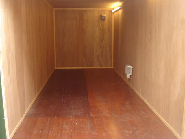ply lined container shipping container