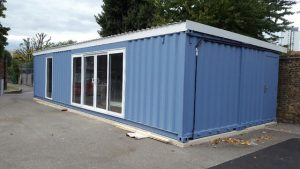 Container conversion to a Library