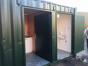 Disabled Toilet Shipping Container