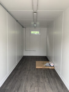 20ft Container Conversion Office Inside