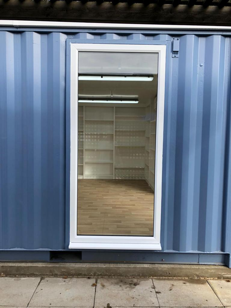 Single Window in a Shipping Container