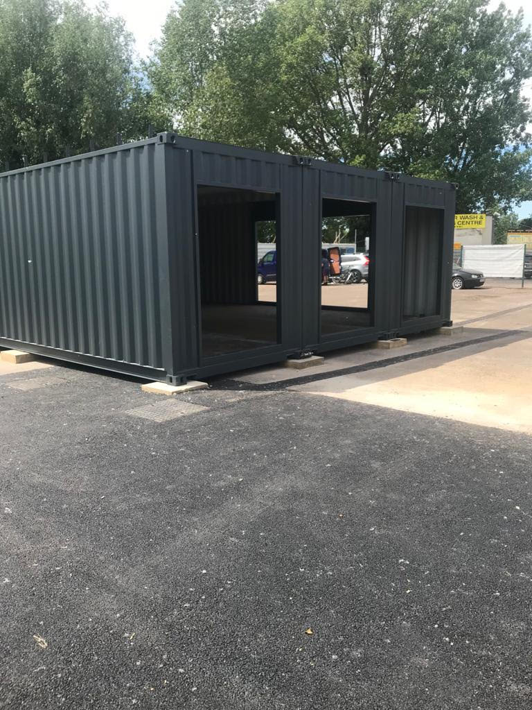 3 x 40ft Container Conversion
